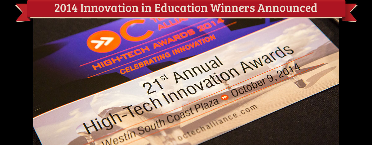 2014 Innovation in Education Awards Winners
