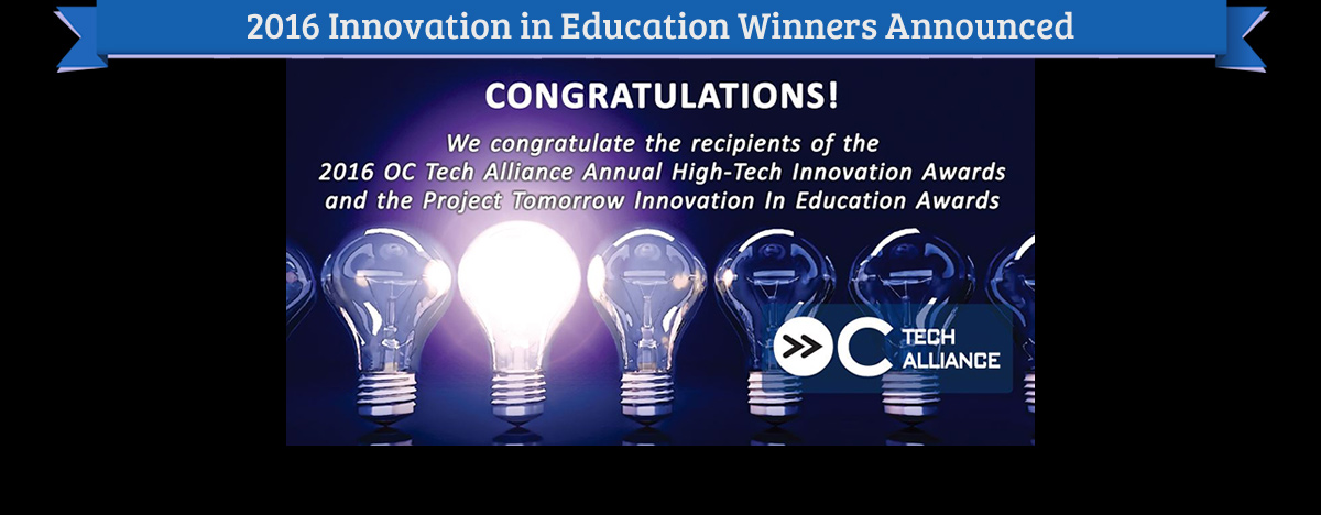 2016 Innovation in Education Awards